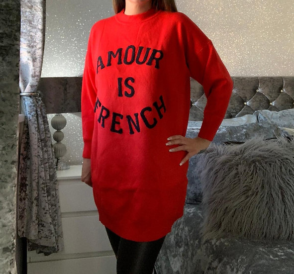 Amour Oversized Jumper