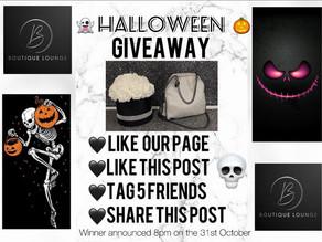 🎃 Halloween Giveaway 🎃