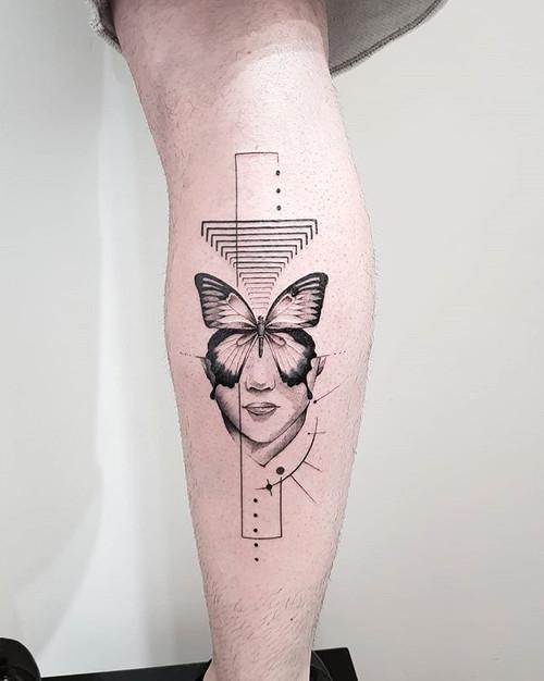 Butterfly effect 🦋 by @noamyonatattoos