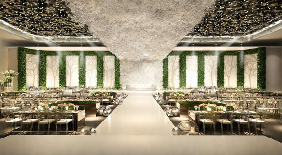 Eden Garden at Raffles Hotel