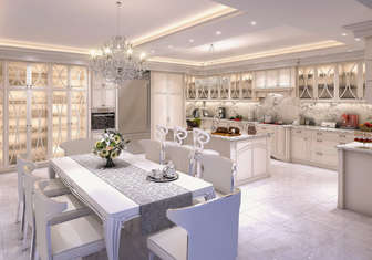 Villa Mutfak tasarımı