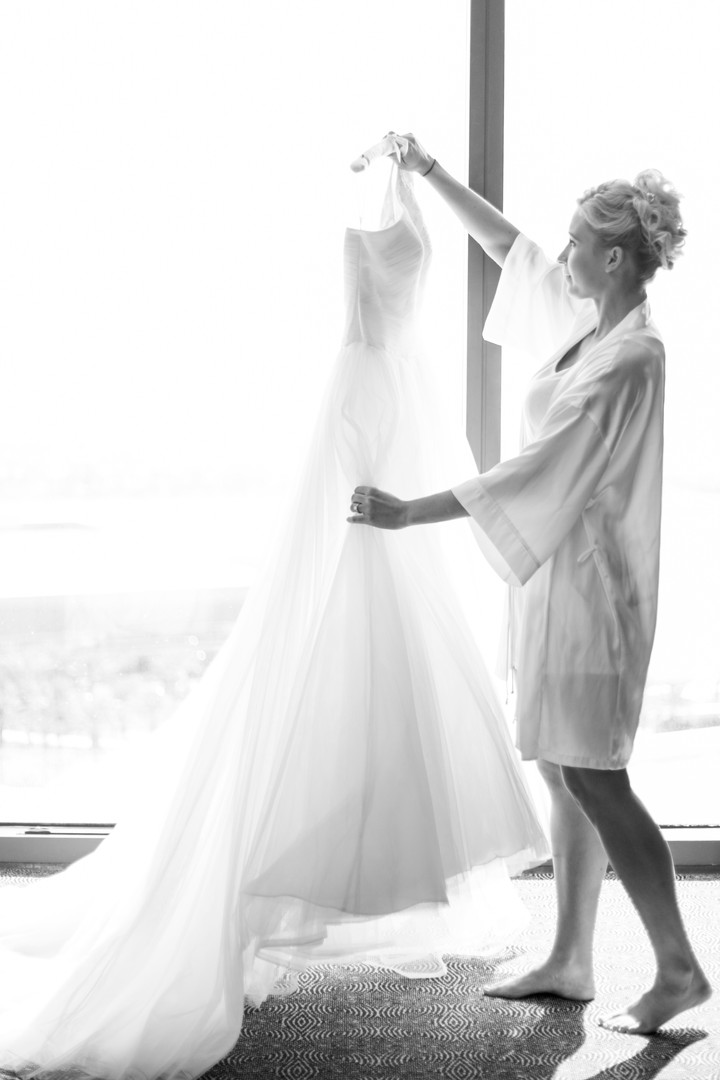 Getting Ready - The Dress