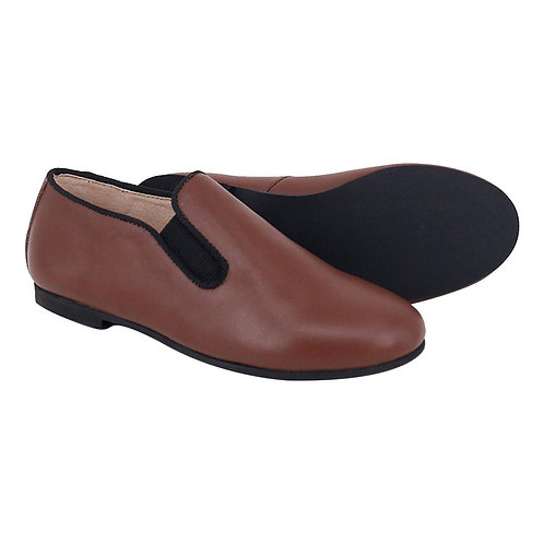 Luggage Leather Loafer