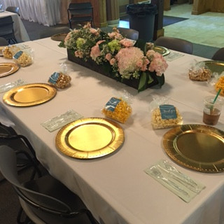 Bridal shower, private, party