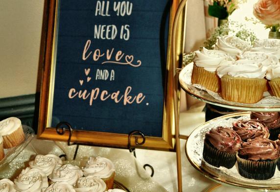wedding, day of coordination, dessert bar