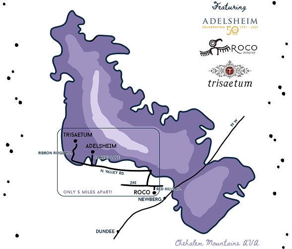 BOB Trail Map