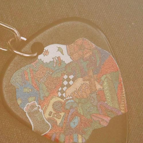 [Playland] pick necklace