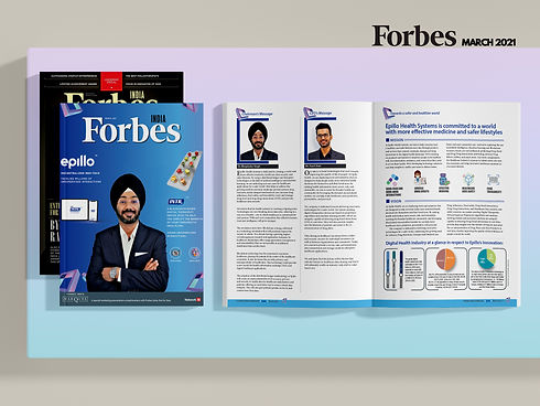 Forbes India March Epillo Health System Dr. Bhupinder Singh