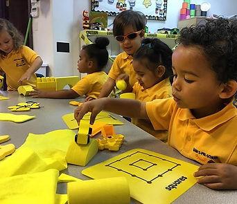 Pre-K exploring the color of the month 'yellow' ☀️ #yellow #nanaspreschool #preschool #bes