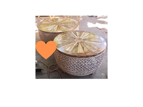 Orange Slice Table
