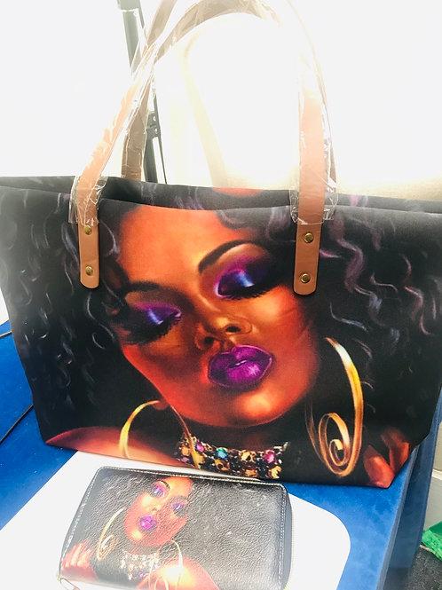 Queen Tote w/wallet