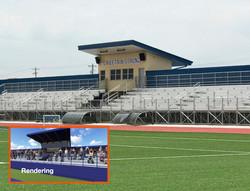 Soccer stadium rendering comparison
