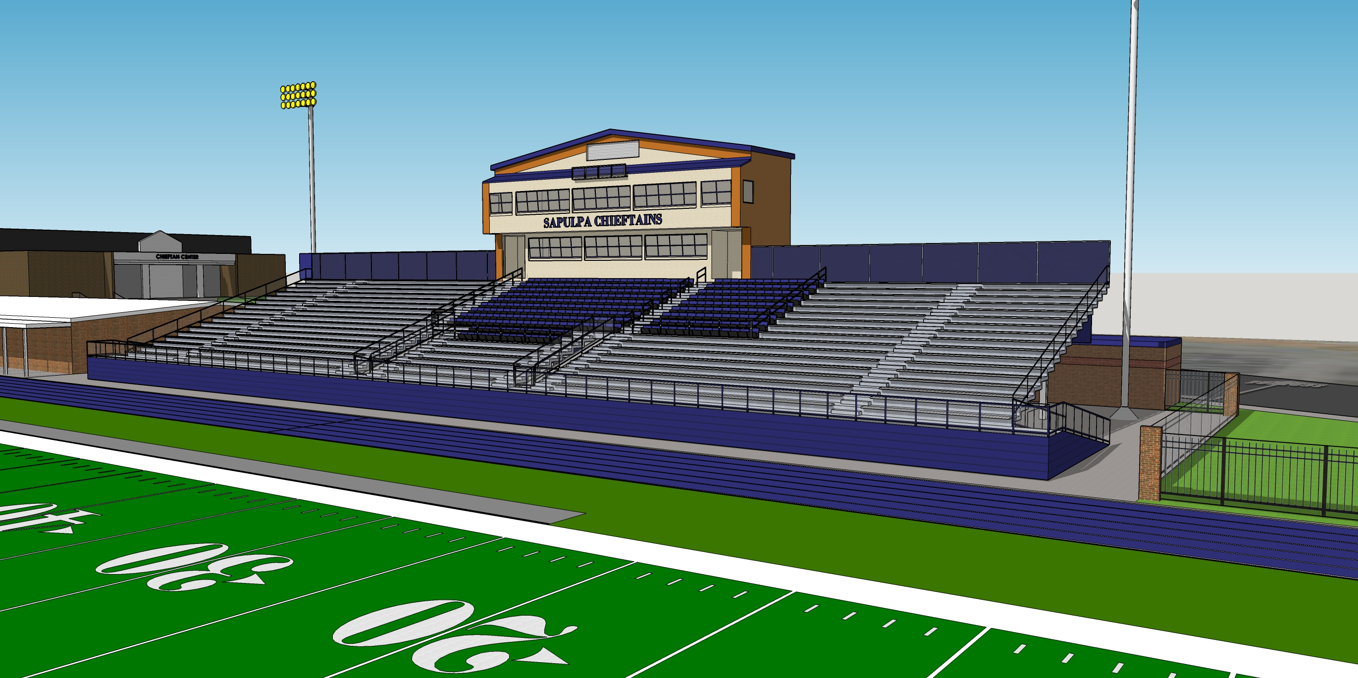Sapulpa High School Football Stadium