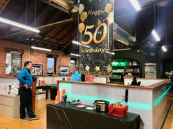 David's Fabulous 50 birthday party at the Reed Architecture HQ