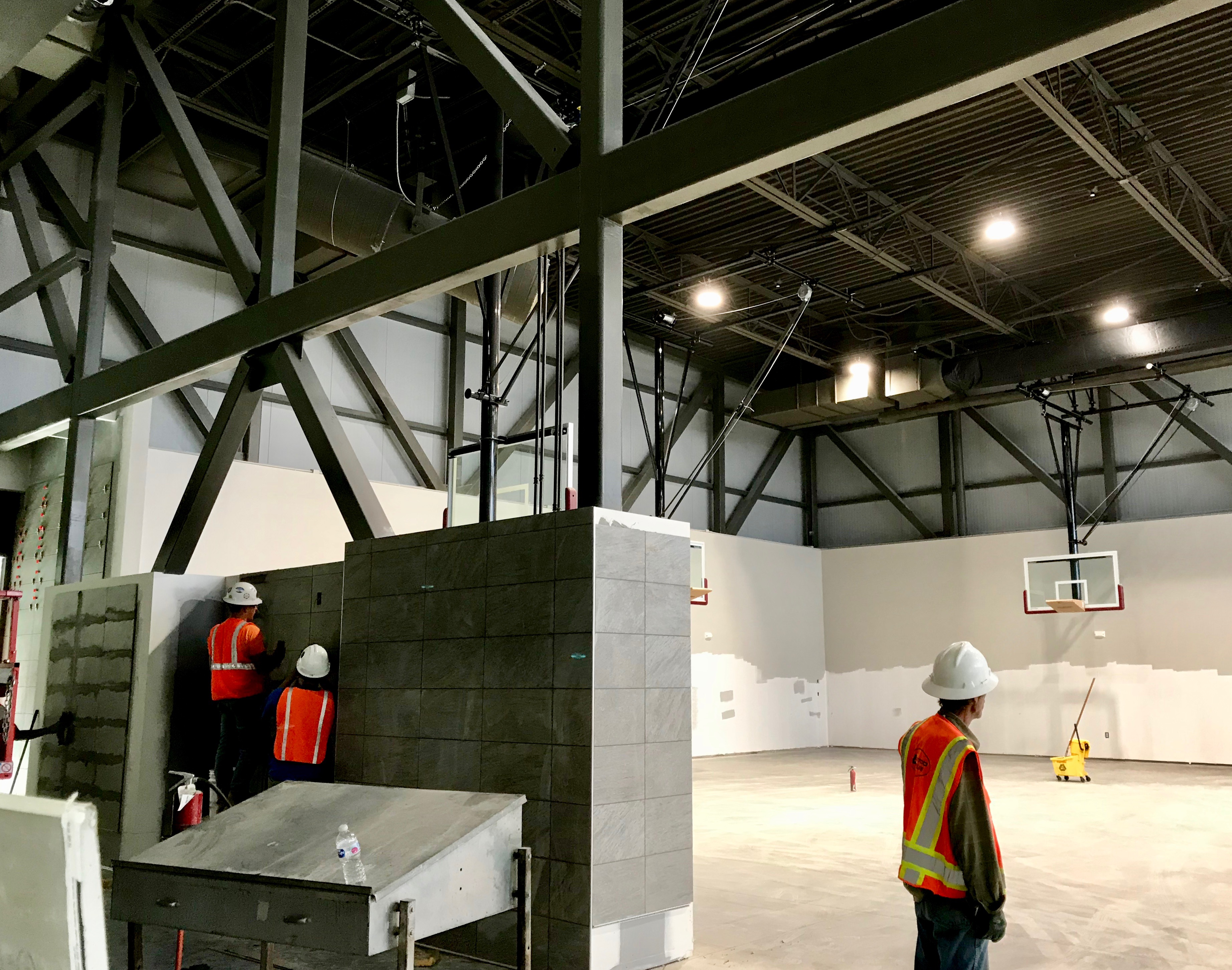 Practice gym construction