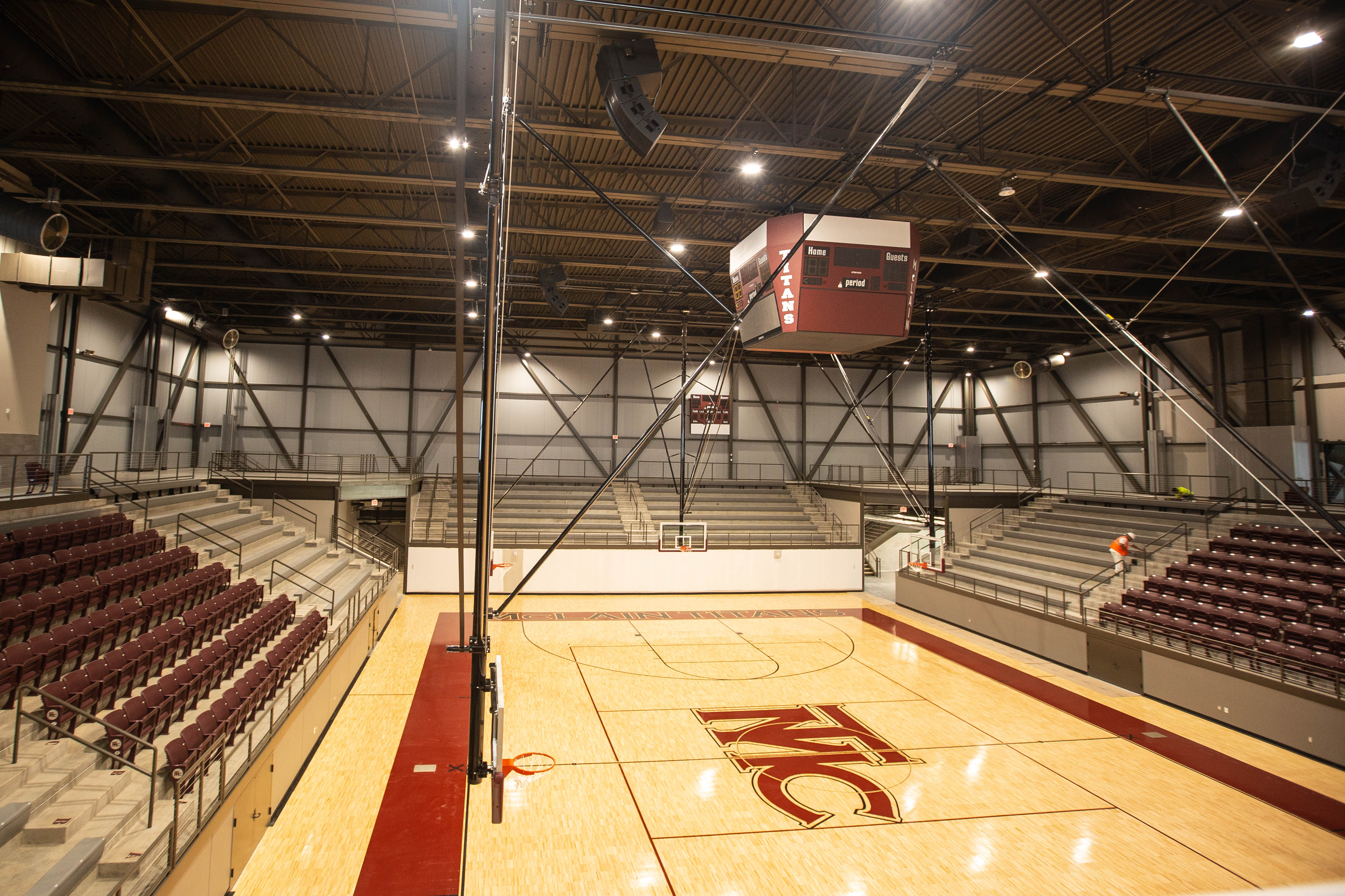 Titan home court