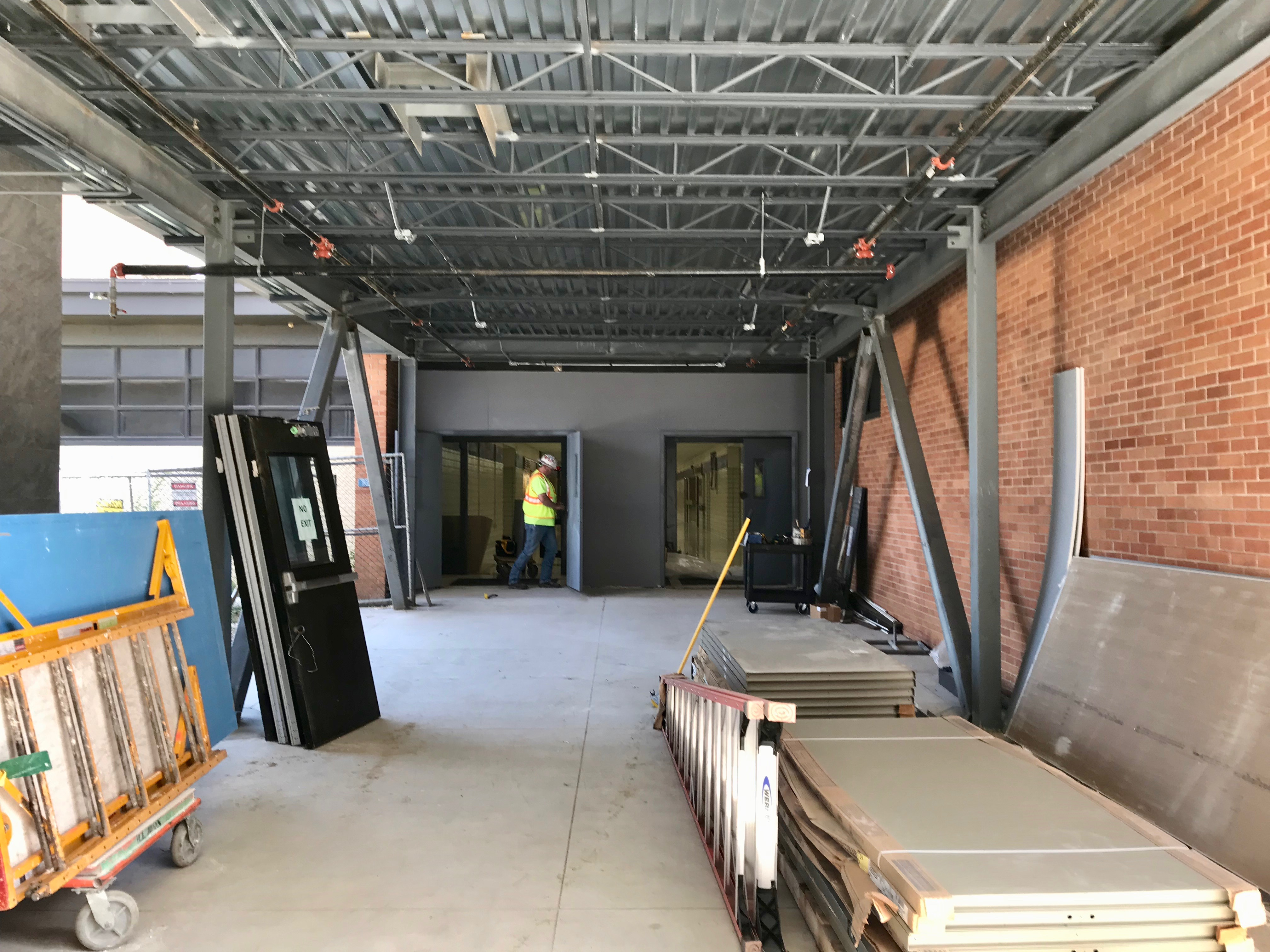 High school access construction