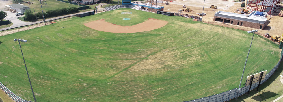 PC West baseball stadium aerial photo provided by High Res LLC