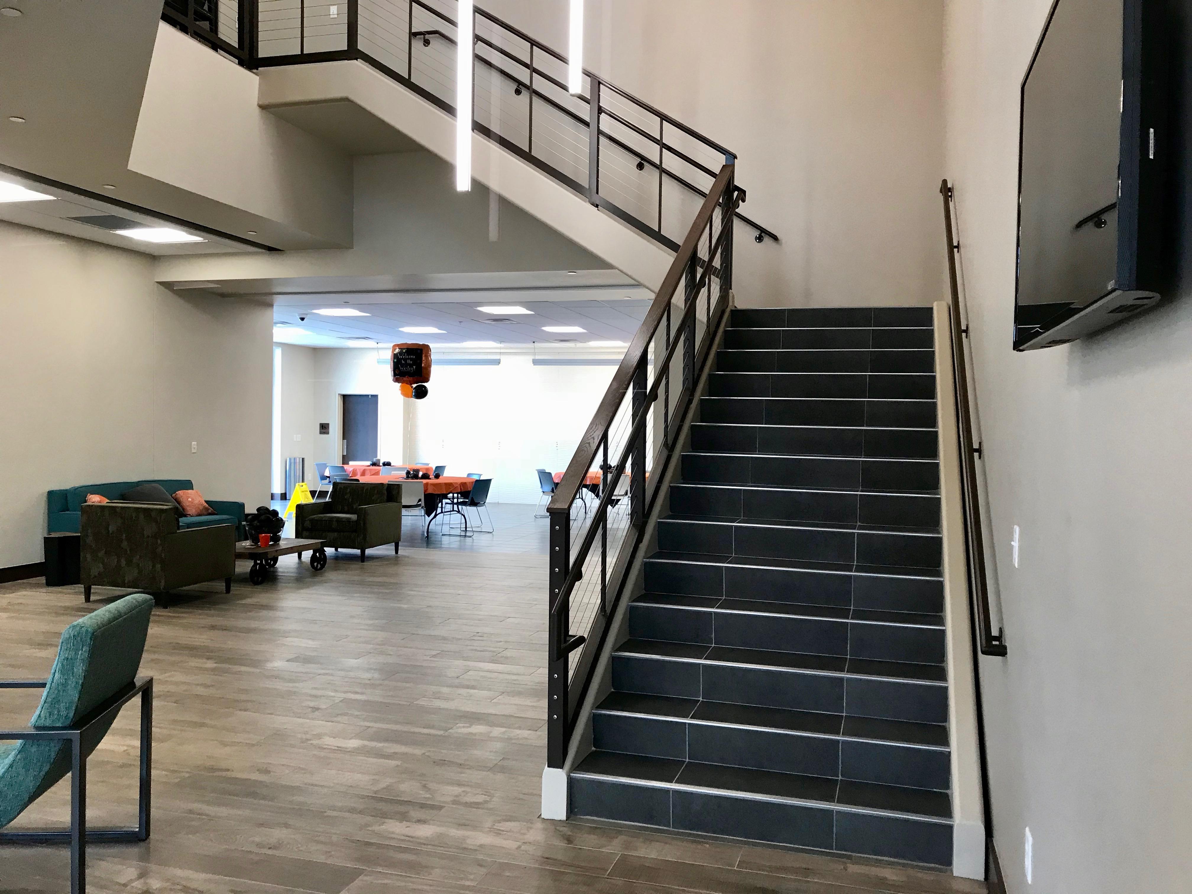 Main stairway
