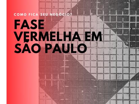 São Paulo retorna para a Fase Vermelha no período de festas