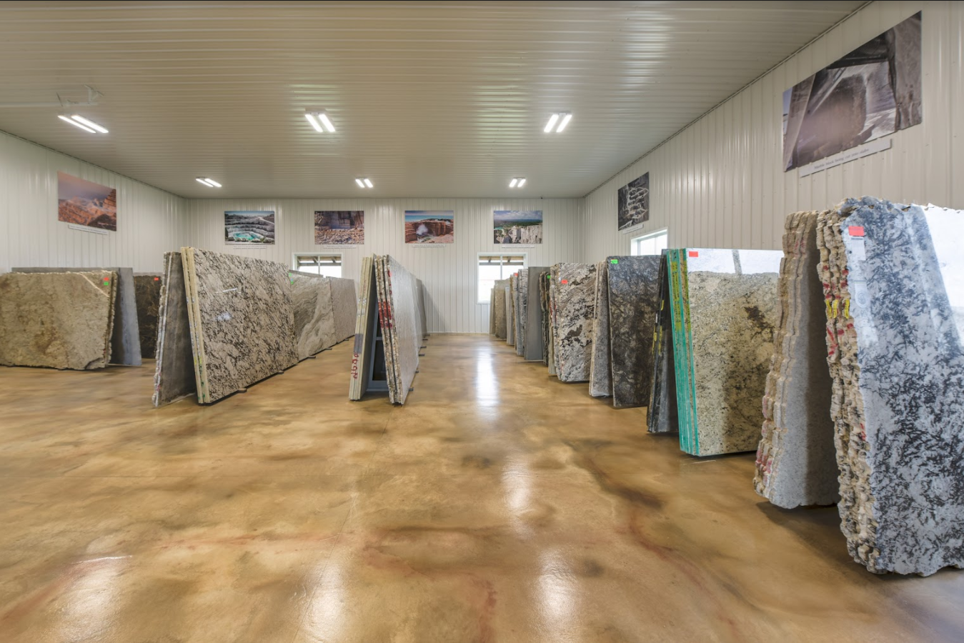 Stop In. Choose Your Slab.
