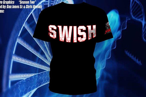 Swish Athletic Tees Black