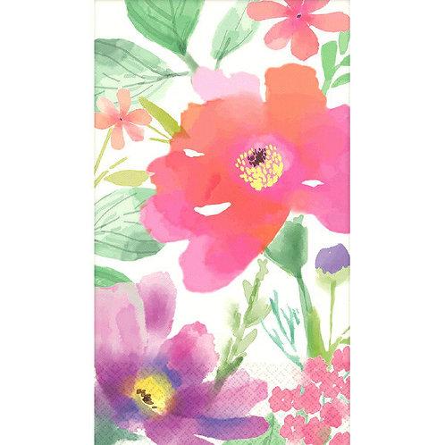 Guest Towels - Watercolor Florals 16ct
