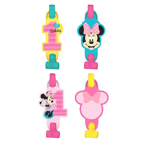 Minnie's Fun To Be One Blowouts 8ct