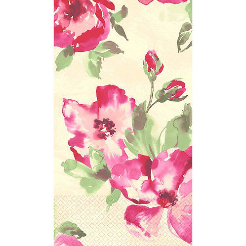 English Rose Guest Towels 16ct