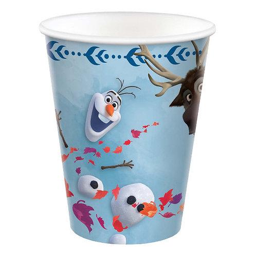 Frozen 2 Cups 8ct