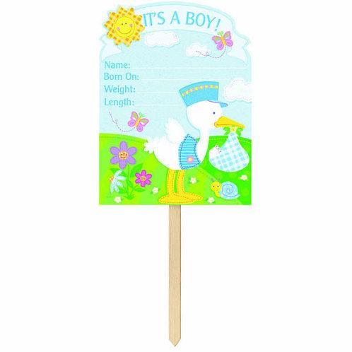 Bundle of Joy - It's A Boy! Giant Yard Sign