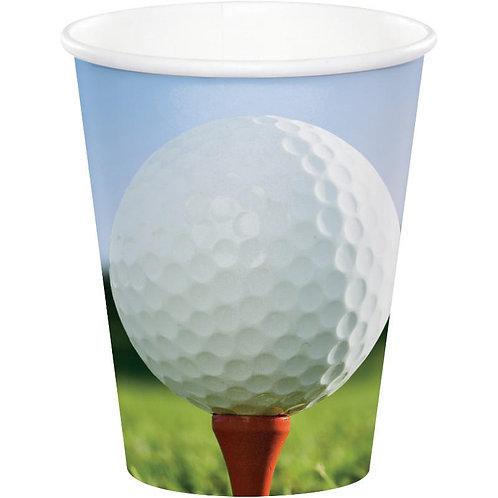 Golf Paper Cups 8ct