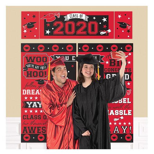2020 Grad Red Scene Setter Kit