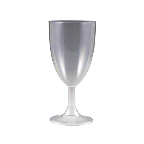 Sovereign Clear 8oz Plastic Wine Glasses 10ct