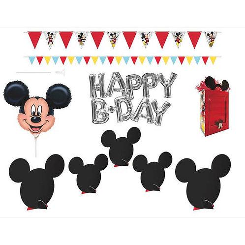 Mickey Wall & Table Decoration Kit