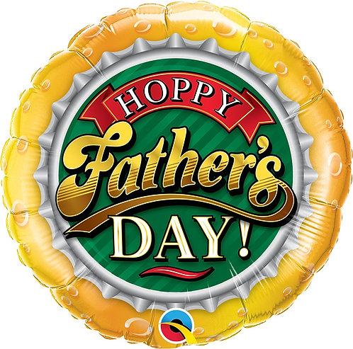 Hoppy Fathers Day 18in Mylar Balloon
