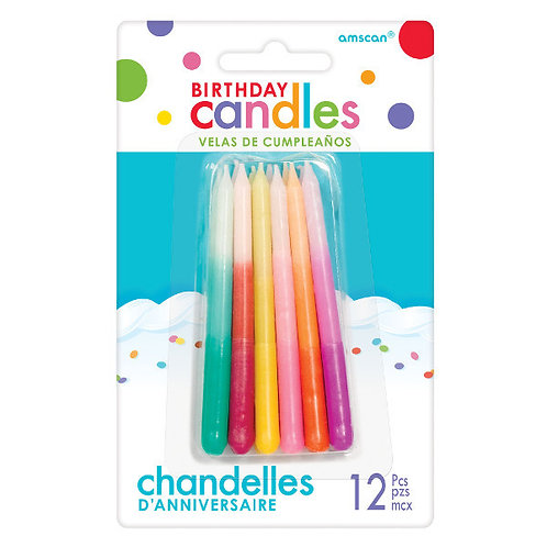 Ombre Candles 12ct