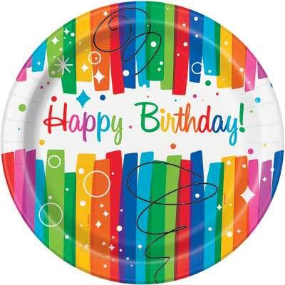 Rainbow Ribbons Birthday