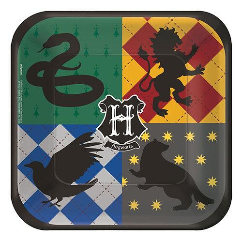 Harry Potter Dessert Plates 8ct