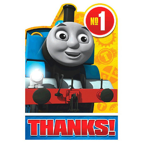 Thomas All Aboard Thank You 8ct