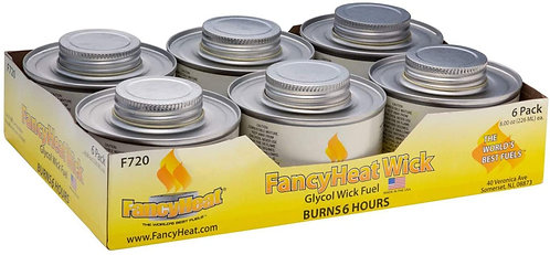 6 Hour Wick Fuel 6 Pack
