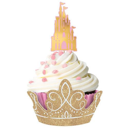 Disney Princess Glitter Cupcake Kit 24ct