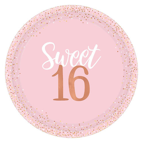 Blush Sixteen 10.25in Plates 8ct
