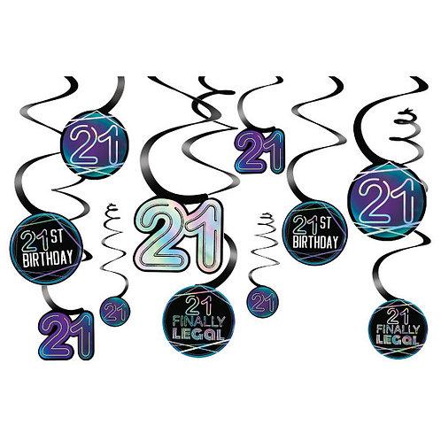 Finally 21 Spiral Decoration Value Pack