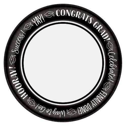 Celebrate Success 6.75in Plates 40ct