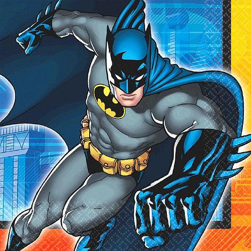 Batman Lunch Napkins 16ct
