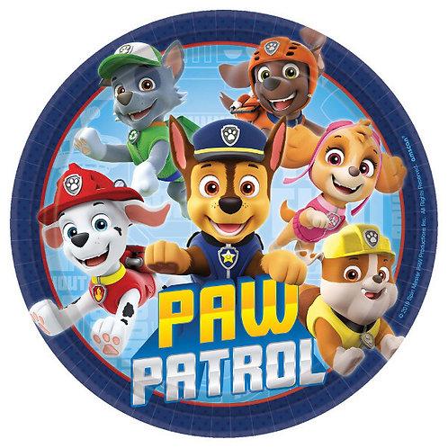 Paw Patrol Adventures Dessert Plates 8ct