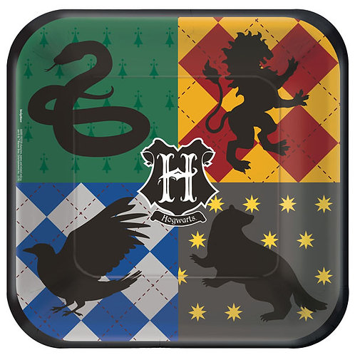 Harry Potter Lunch Plates 8ct