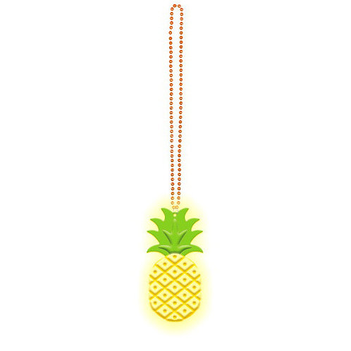 Light Up Pineapple Necklace