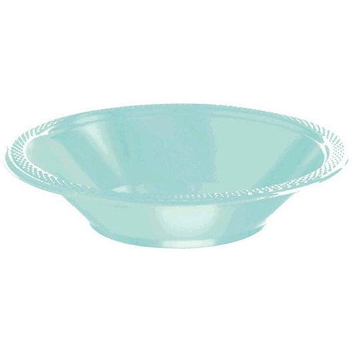 Robins Egg Blue 12oz. Plastic Bowls 20ct